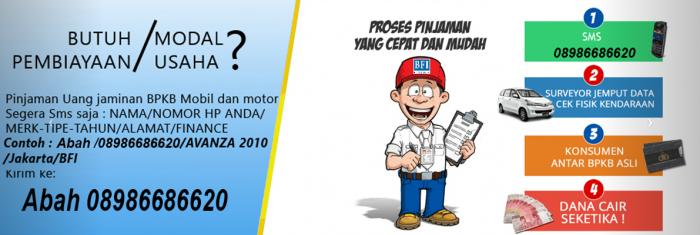 Gadai BPKB Mobil di Jakarta barat